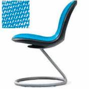 Net Circular Base Chair - Sky Blue - Pkg Qty 2