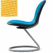Net Circular Base Chair - Yellow - Pkg Qty 2