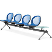 NET Series Beam with 4 Seats and 1 Table - Marine