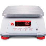 """Ohaus® Valor 4000 Water Resistant Digital Scale 6lb x 0.001lb 7-1/2"""" x 9-1/2"""" Platform"""