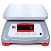 """Ohaus Valor 2000 Water Resistant Digital Scale 3lb x 0.0005lb 7-1/2"""" x 9-1/2"""" Platform"""