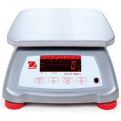 """Ohaus Valor 4000 Water Resistant Digital Scale 6lb x 0.001lb 7-1/2"""" x 9-1/2"""" Platform"""