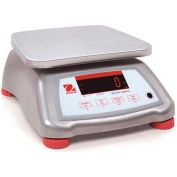 Ohaus® V41XWE15T Valor® 4000 Water Resistant Digital Food Scale, 30 lb x 0.005 lb