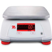 "Ohaus® Valor 2000 Compact Bench Digital Scale 3lb x 0.0005lb 7-1/2"" x 9-1/2"" Platform"
