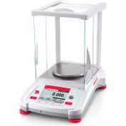 """Ohaus® AX223/E Adventurer Precision Balance w/ Manual Calibration 220g x 0.001g 5-1/8"""" Diameter"""