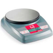 "Ohaus CL5,000 Portable Digital Scale x 1g 4-3/4"" Diameter Platform"