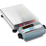 "Ohaus Defender 5000 Low-Profile Rectangular Bench Digital Scale 600lb x 0.1lb 16-1/2"" x 21-11/16"""