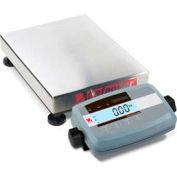 "Ohaus Defender 5000 Low-Profile Rectangular Bench Digital Scale 60lb x 0.01lb 12"" x 14"" Platform"