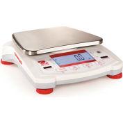 "Ohaus® NV1101 AM Portable Balance 1090g x 0.1g 4-11/16"" Diameter Platform"
