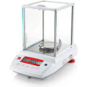 Ohaus Pioneer PA124 Analytical Balance 120g x 0.0001g With Draftshield & External Calibration