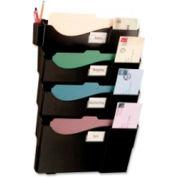 Officemate Four Pocket Starter Filing System Black