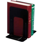 "Officemate®Standard Bookends 9"" High Black 2 Pack"