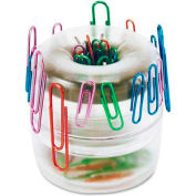 "Officemate®Paper Clip Holder 3"" x 3"" Clear"