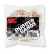 Officemate® Rubber Bands, Assorted Sizes, Natural, 1-3/8 oz. Bag