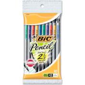 Bic® Mechanical Pencil, 0.7mm, Assorted Barrels, 10/Pack
