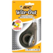 """Bic® Wite-Out Redaction Tape 1/5"""" x 26-1/5' White"""