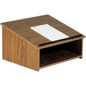 Table Top Podium / Lectern - Medium Oak