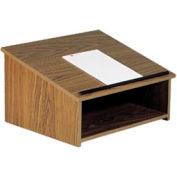 Table Top Podium / Lectern - Medium Oak