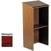 Full Floor Lectern / Podium - Mahogany