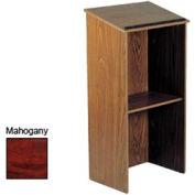 Full Floor Lectern - Mahogany