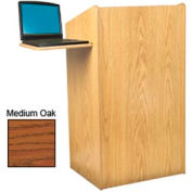 Aristocrat Floor Lectern - Medium Oak