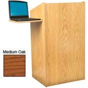 Aristocrat Floor Lectern / Podium - Medium Oak