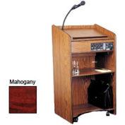 Floor Sound Lectern - Mahogany