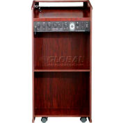 The Prestige Lectern with Sound - Mahogany