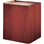 Veneer Contemporary Lectern Base - Mahogany