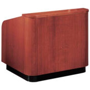 Veneer Contemporary Table Lectern - Mahogany