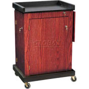 Smart Cart Lectern - Mahogany