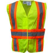 Utility Pro™ Hi-Vis Tearaway Vest, ANSI Class 2, L/XL, Yellow