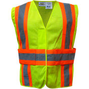 Utility Pro™ Hi-Vis Tearaway Vest, ANSI Class 2, S/M, Yellow