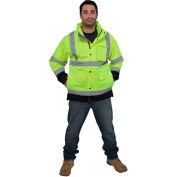 Medium UTILITY PRO UHVR642 M Premium Rain Jacket Yellow//Black