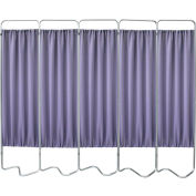 Omnimed® Privacy Screen, Beamatic™ Screen Frame, 5 Sections