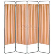 Omnimed® Privacy Economy Folding Screen Frame, 4 Sections