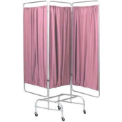 Omnimed® 3 Section King Size Screen Frame On Casters