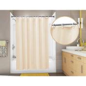 "Omnimed 6 Gauge Vinyl Shower Curtain, 72"" x 72"" Champagne - 155000-CH"