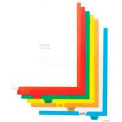 Omnimed® Preprinted Poly Divider Set # 220903, Top Open, 11 Tab/Set