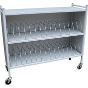 """Omnimed® Omnicart Large Cabinet Vertical Chart Rack, 43-3/4""""H, 30 Capacity, Beige"""