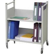 Omnimed® Cubbie Transport Cart, 100 lbs Capacity, Light Gray