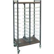 "Omnimed® Omnicart Flat Storage Rack, 53-3/8""H, 20 Capacity, Beige"