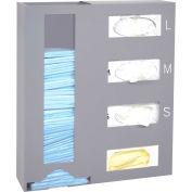 "Omnimed® Steel Isolation Storage Station, 18""W x 4-1/2""D x 20-3/4""H"