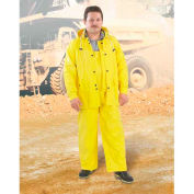 Onguard Neotex Yellow Jacket W/Hood Snaps, Neoprene on Nylon, 3XL