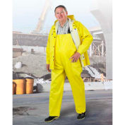 Onguard Webtex Yellow Jacket W/Attached Hood, PVC, S