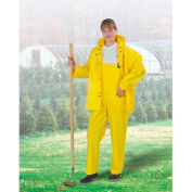 "Onguard Tuftex 48"" Yellow Coat W/Hood Snaps, PVC, 3XL"