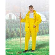"Onguard Tuftex 48"" Yellow Coat W/Hood Snaps, PVC, XL"