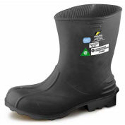 "Onguard Men's Boot, 11"" Hazmax EZ-Fit Green/Yellow, Steel Toe/Mid-sole, PVC, Size Small"