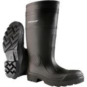 "Onguard Men's Boot,16"" Buffalo Black Plain Toe W/Lug Outsole, PVC, Size 9"