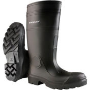 "Onguard Men's Boot,16"" Buffalo Black Plain Toe W/Lug Outsole, PVC, Size 14"